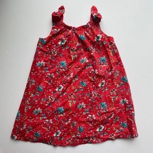 Gap | girl's floral red dress